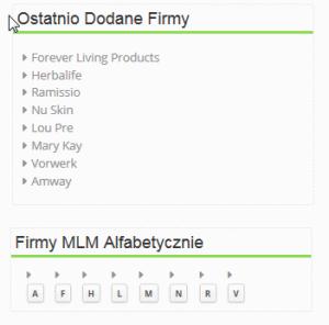 Lista firm